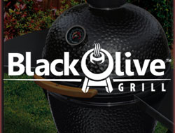 Black Olive Pellet Grills and Charcoal Grills