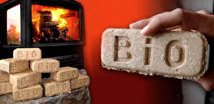 BioBricks fuel for Fireplaces and Wood Stoves